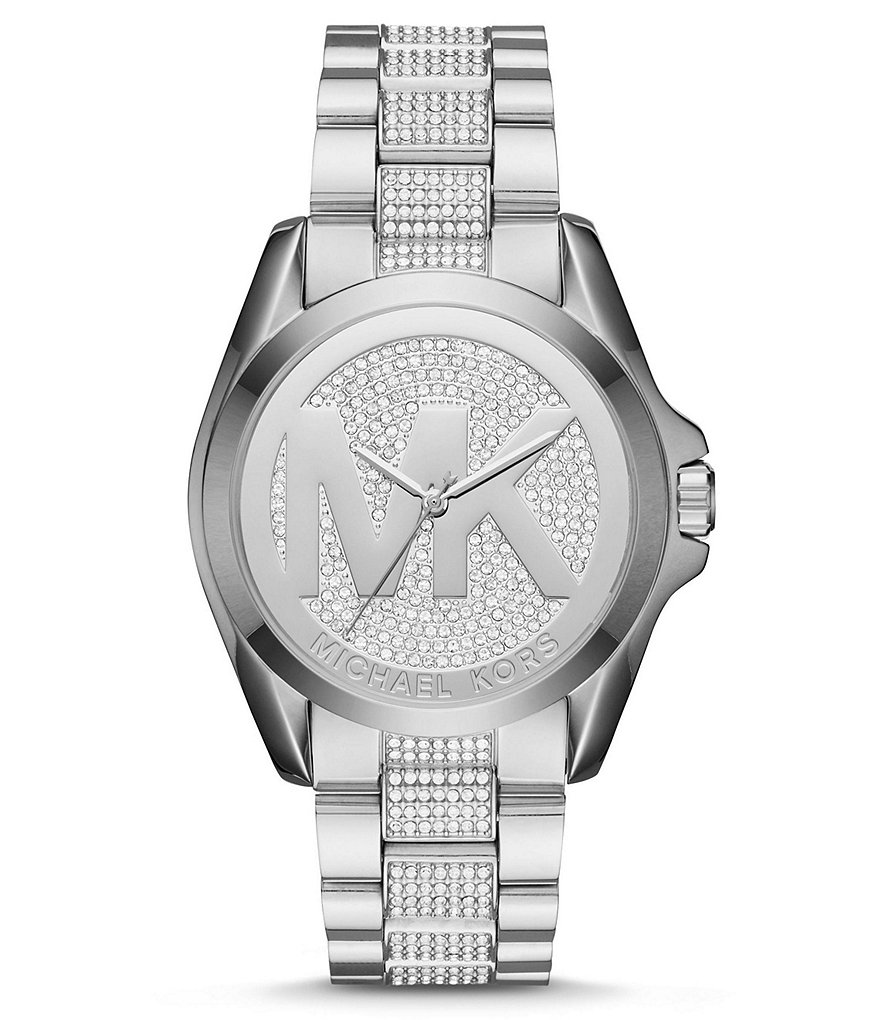 Michael Kors Bradshaw Glitz Analog Bracelet Watch