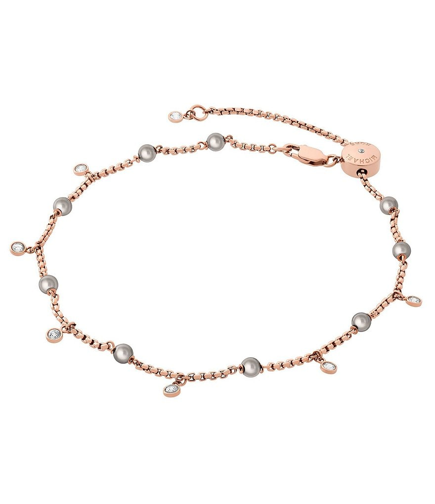 Michael Kors Faux-Pearl Anklet