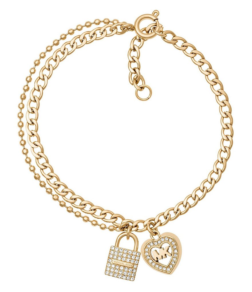 Michael Kors Love is in The Air Chain Bracelet