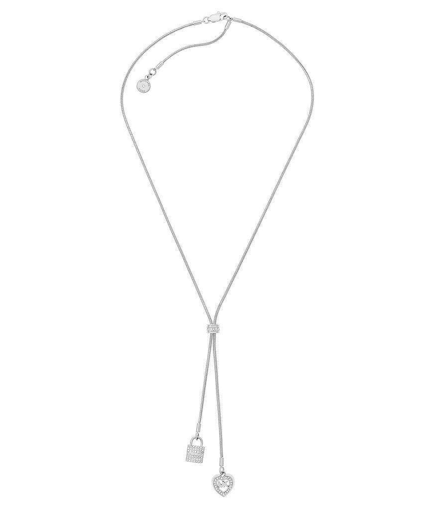 Michael Kors Love is in The Air Lariat Necklace