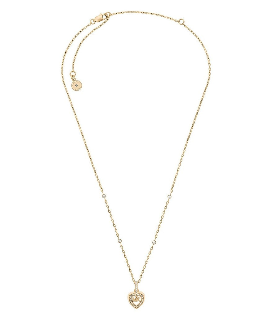 Michael Kors Love is in The Air Pendant Necklace