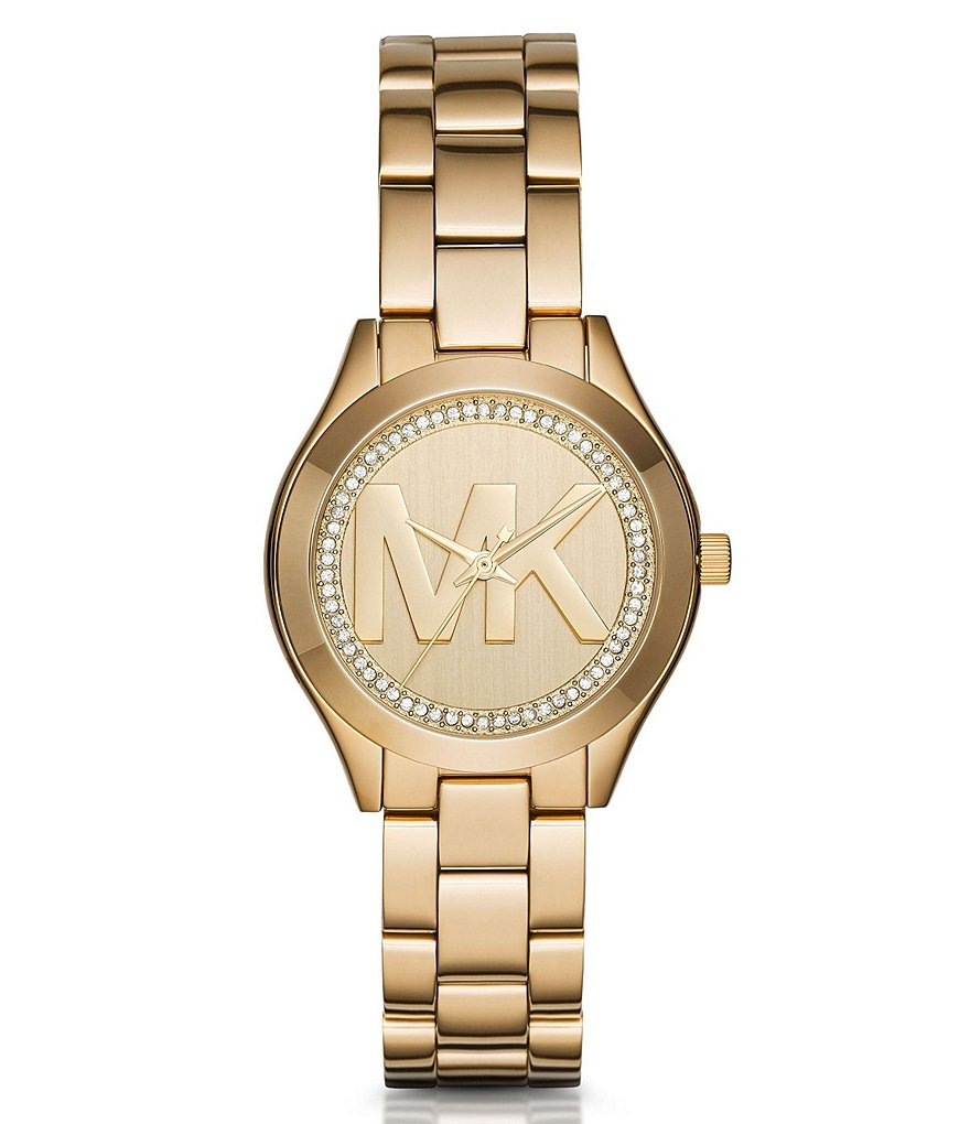 Michael Kors Mini Slim Runway Pavé Analog Bracelet Watch