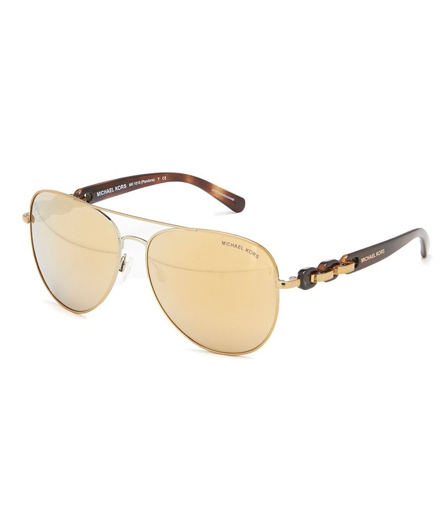 Michael Kors Pandora Gradient Aviator Sunglasses
