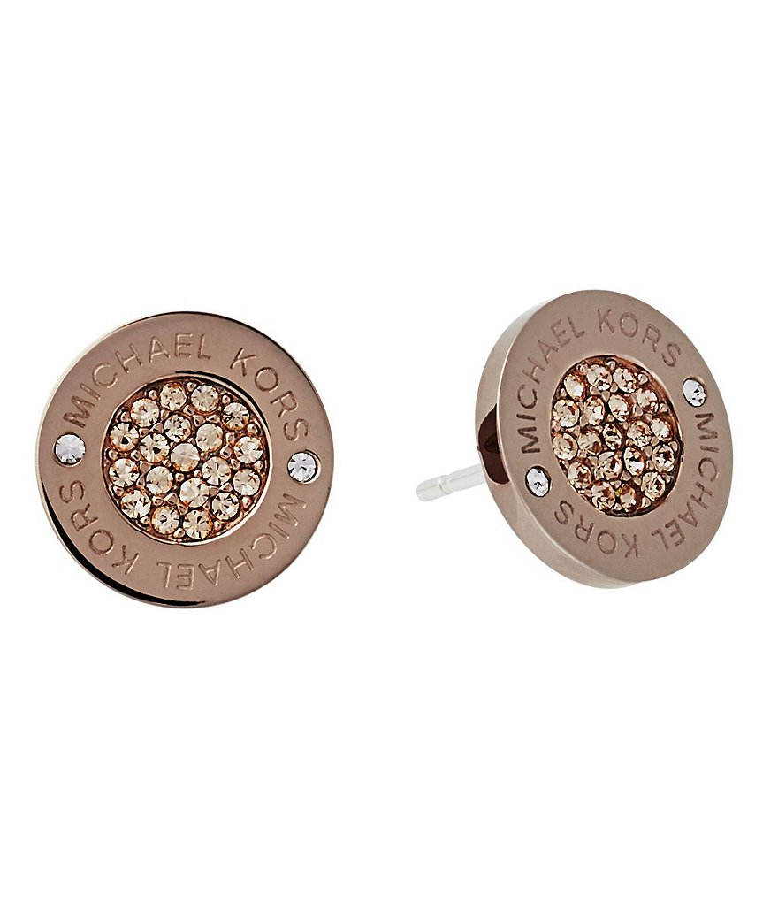 Michael Kors Pavé Stud Earrings