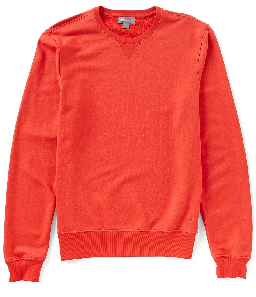 Michael Kors Solid Crewneck Lounge Sweatshirt