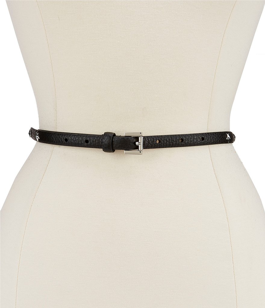 Michael Kors Star-Studded Skinny Belt