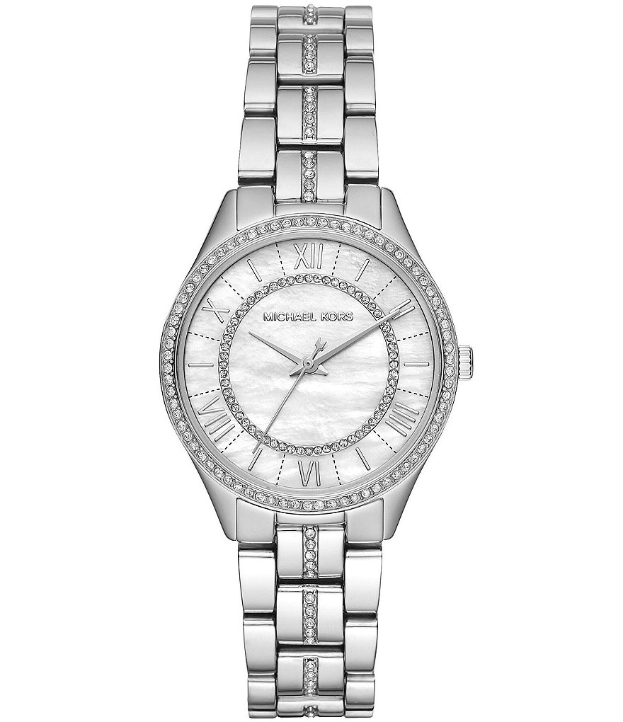 Michael Kors Women's Mini Lauryn Stainless-Steel Watch Case