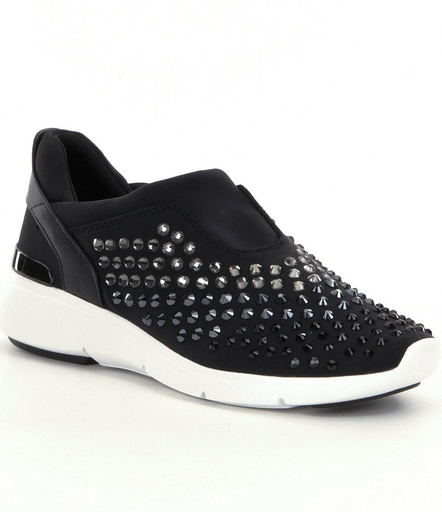 MICHAEL Michael Kors Ace Stone Embellished Sneakers