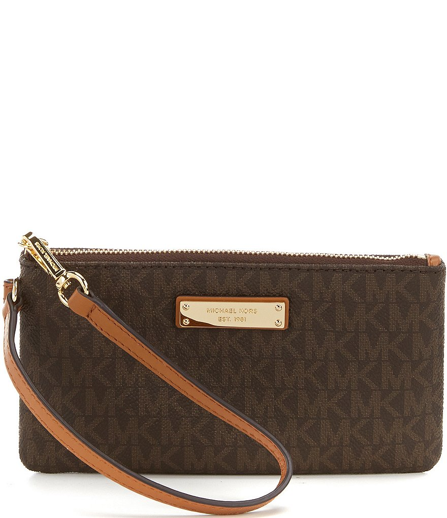MICHAEL Michael Kors Jet Set Signature Medium Wristlet