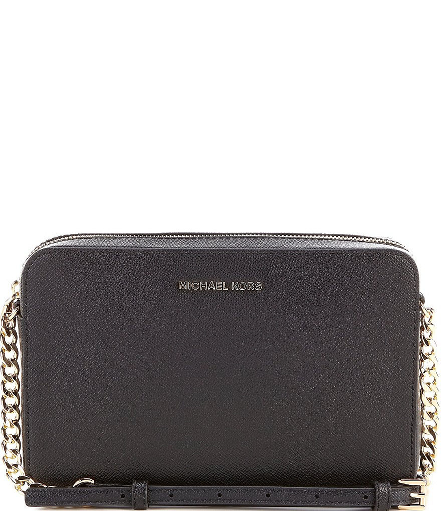be38df650bc5 MICHAEL Michael Kors Jet Set Travel Large East West Chain Strap Cross-Body  Bag