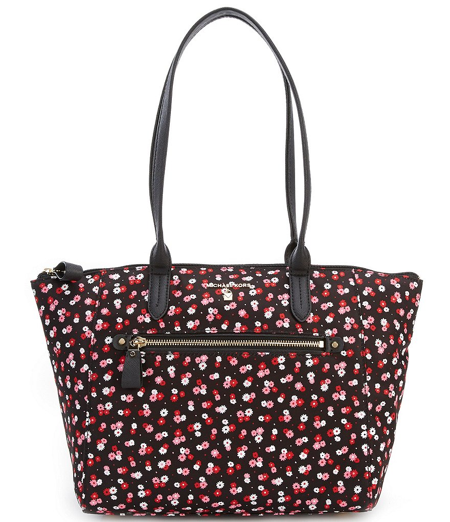 MICHAEL Michael Kors Kelsey Nylon Printed Medium Tote