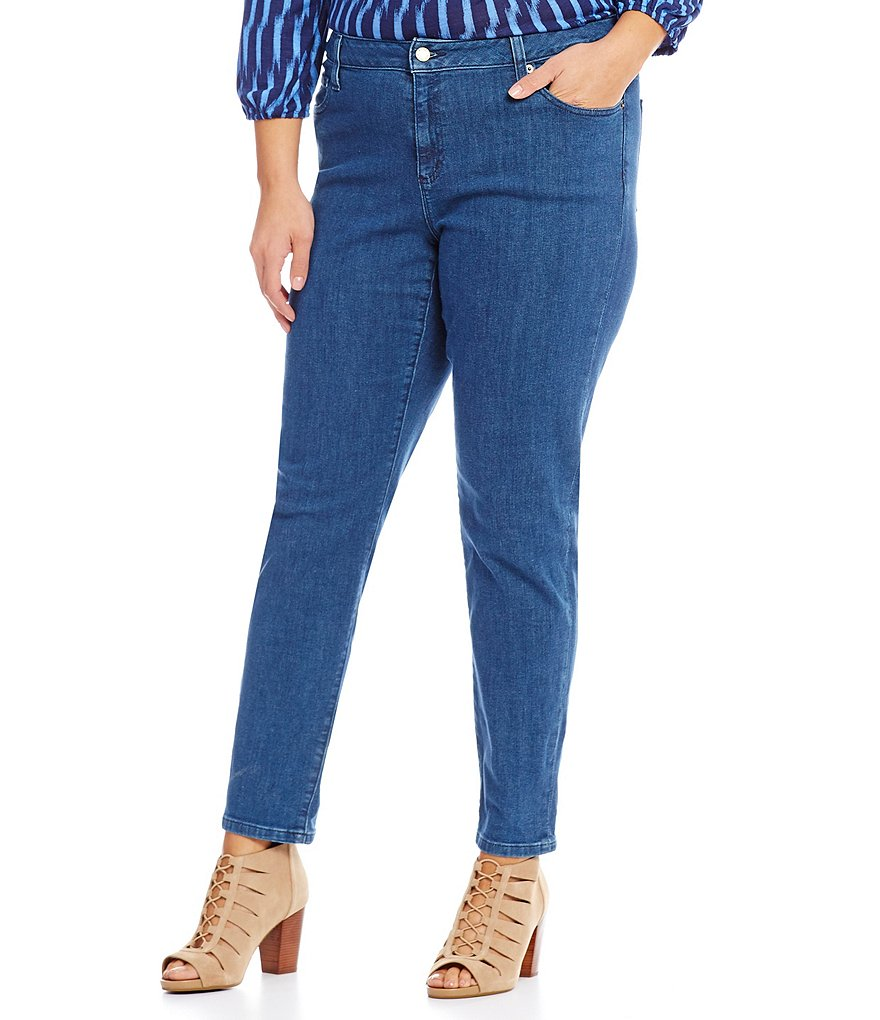 MICHAEL Michael Kors Plus Antique Wash Stretch Denim Skinny Jeans