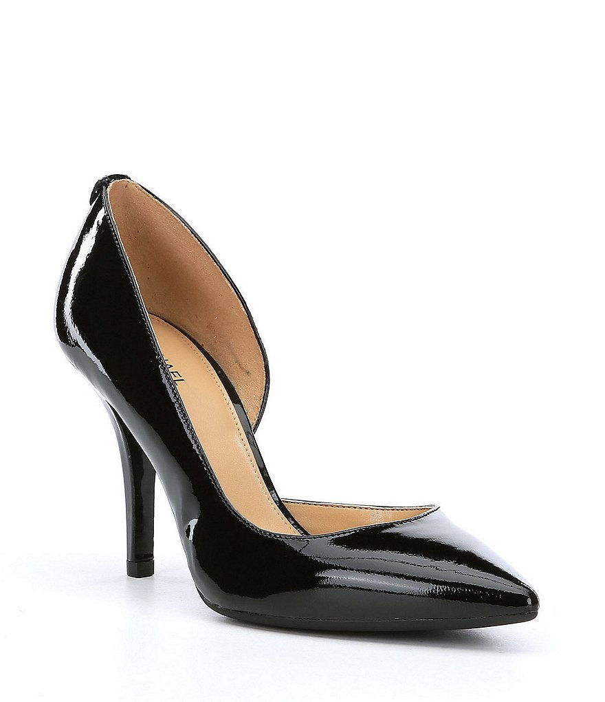 MICHAEL Michael Kors Nathalie Flex Patent Leather Pumps