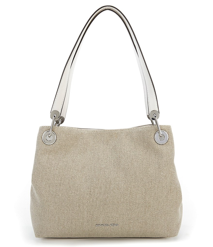 MICHAEL Michael Kors Raven Large Canvas Tote