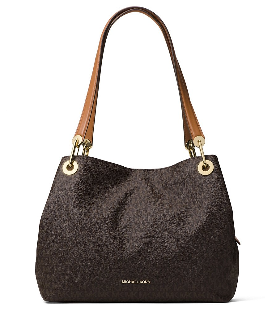 Michael Kors Laukkukoru : Michael kors raven signature large shoulder tote