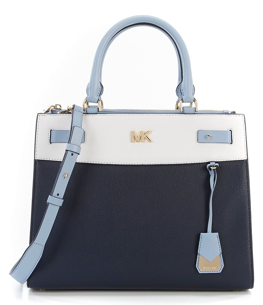MICHAEL Michael Kors Reagan Colorblock Large Satchel