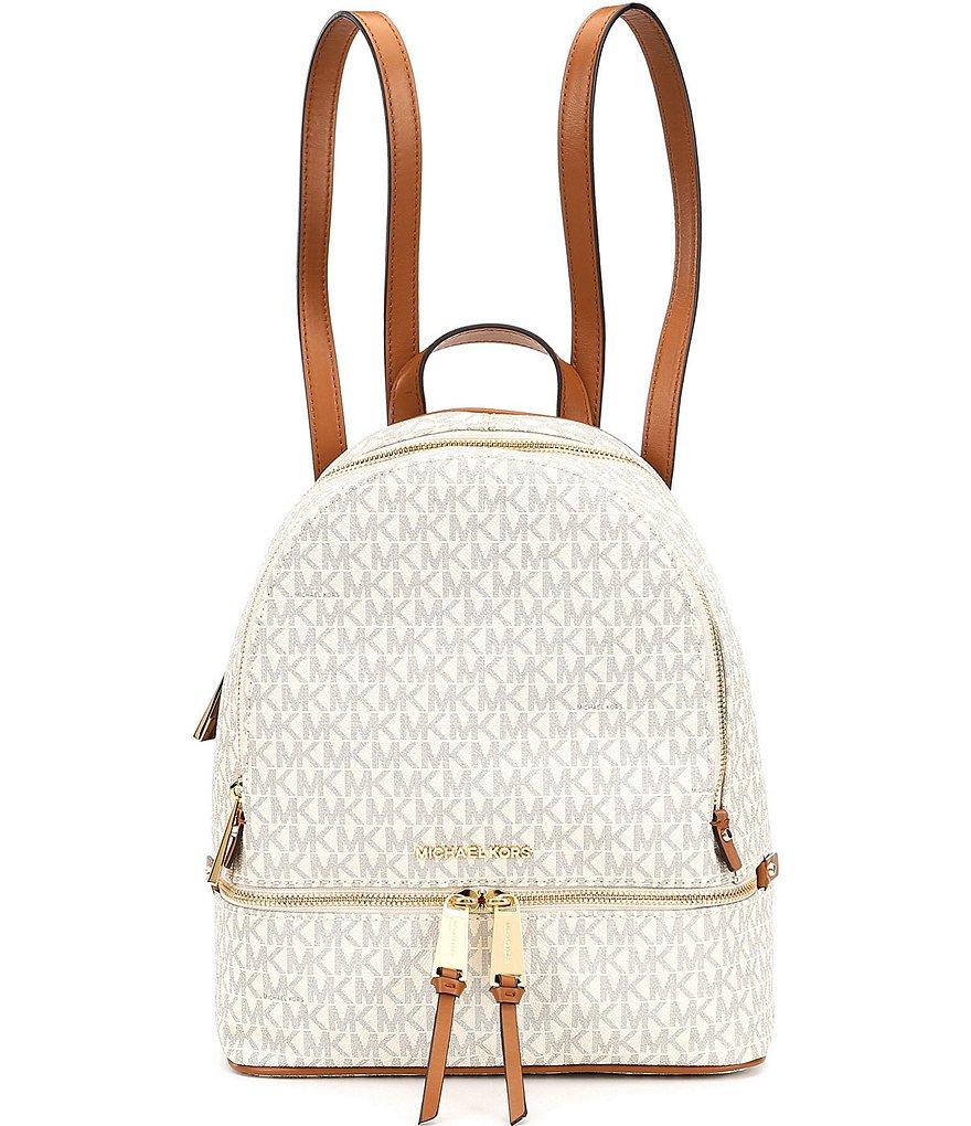 c30627a2ae5702 MICHAEL Michael Kors Rhea Signature Medium Backpack | Dillard's