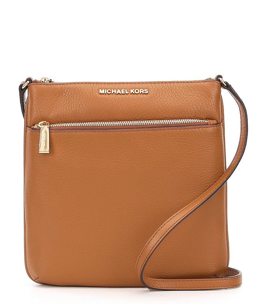 67f1cd56d40 MICHAEL Michael Kors Riley Small Flat Cross-Body Bag   Dillard s