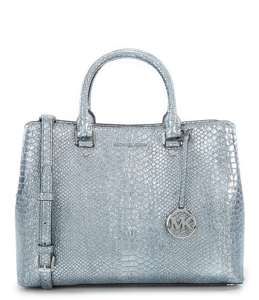 MICHAEL Michael Kors Savannah Snake Large Satchel