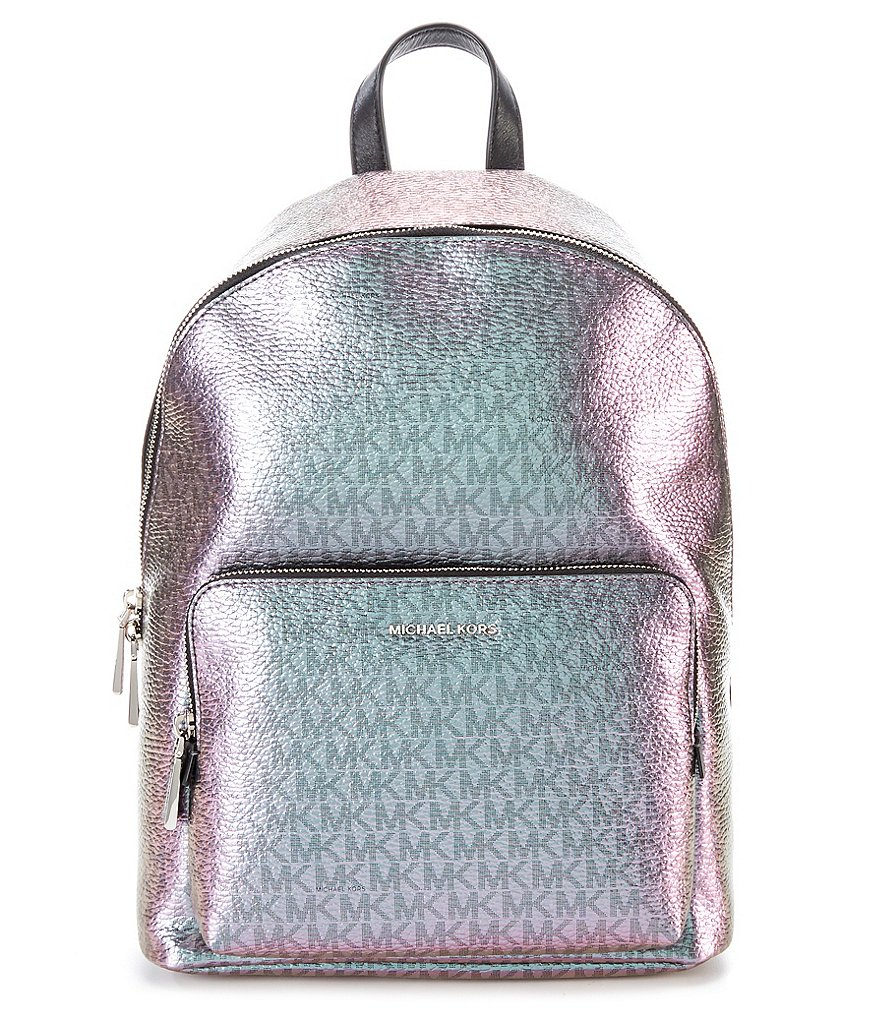 MICHAEL Michael Kors Signature Wythe Metallic Backpack