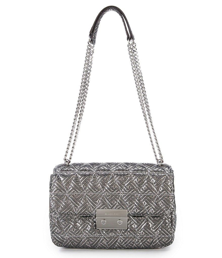 MICHAEL Michael Kors Sloan Metallic Quilted Shoulder Bag | Dillards : quilted shoulder bags - Adamdwight.com