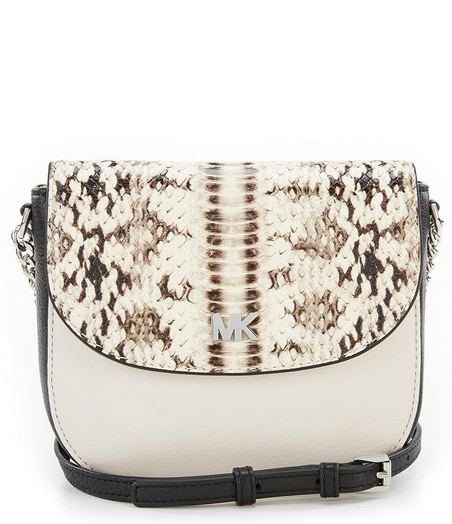 MICHAEL Michael Kors Snake Half-Dome Cross-Body Bag