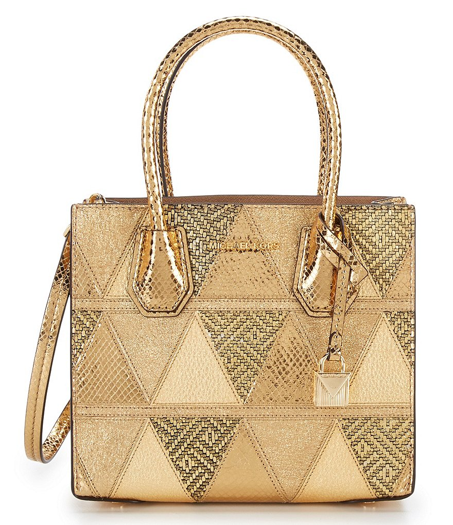 MICHAEL Michael Kors Studio Mercer Metallic Cross-Body Bag