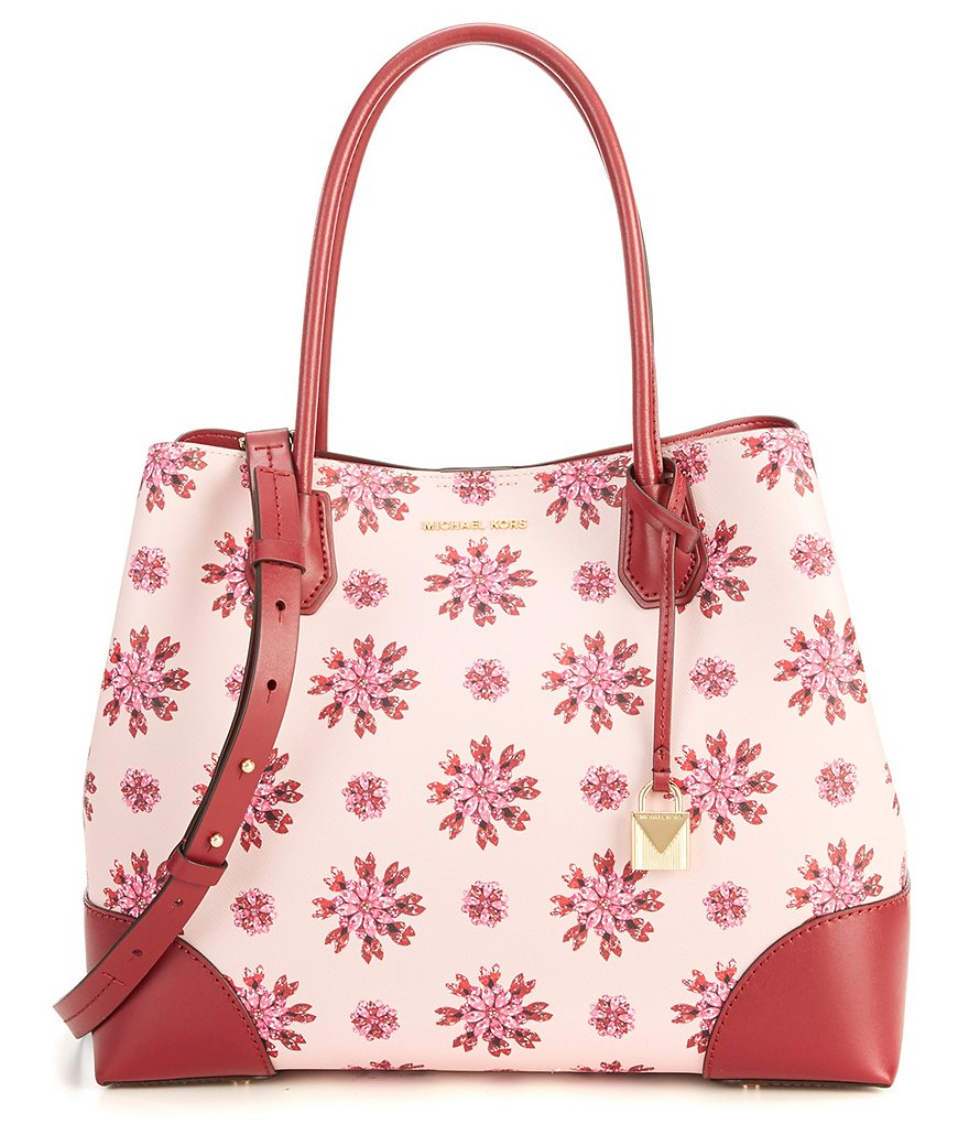 MICHAEL Michael Kors Studio Mercer Floral Large Center-Zip Tote