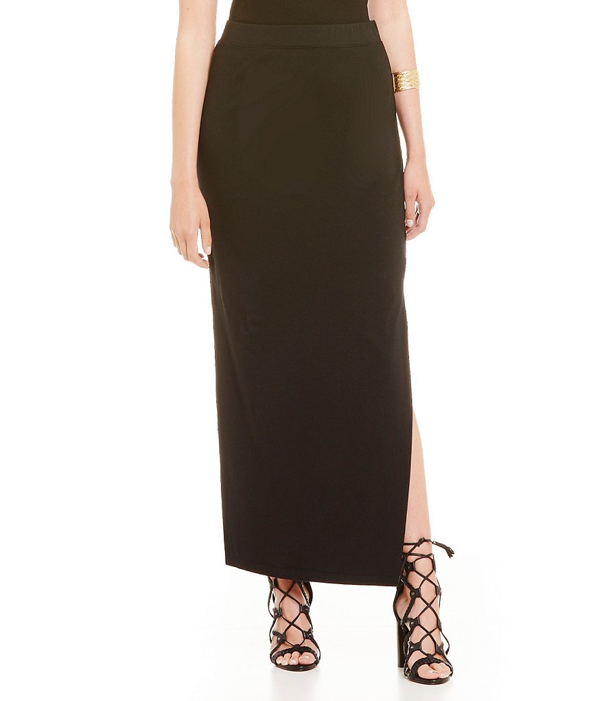 Michael Stars High Slit Maxi Skirt