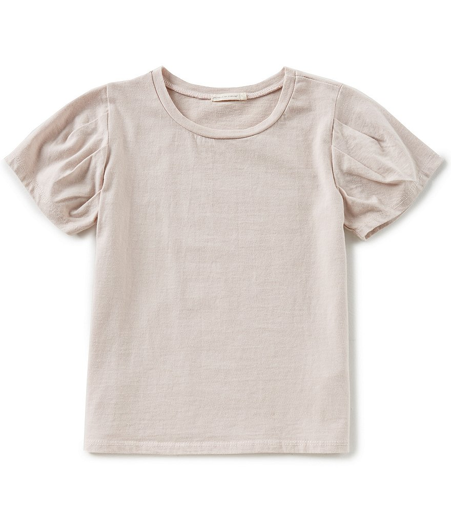 Michelle by Comune Big Girls 7-16 Courtney Pleated-Sleeve Top