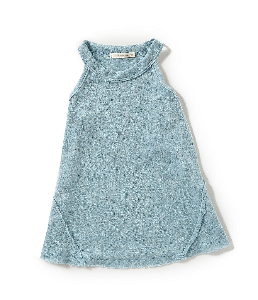 Michelle by Comune Little Girls 2-6X Dillard Halter-Neck Tank