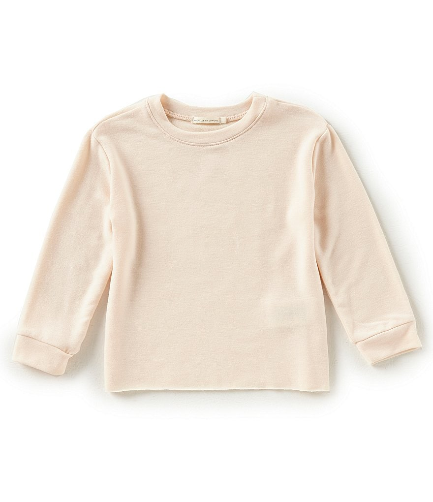 Michelle by Comune Little Girls 2-6X Preston Heart Long-Sleeve Top