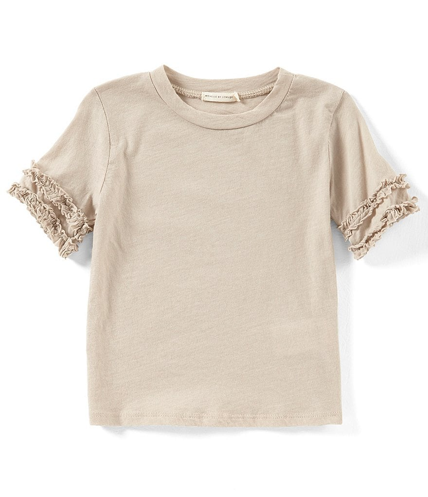 Michelle by Comune Little Girls 2-6X Ruffle Short-Sleeve Top