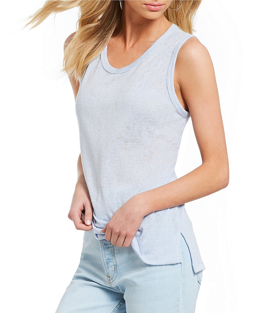 Michelle by Comune Melrose Sleeveless Round Neck Tank