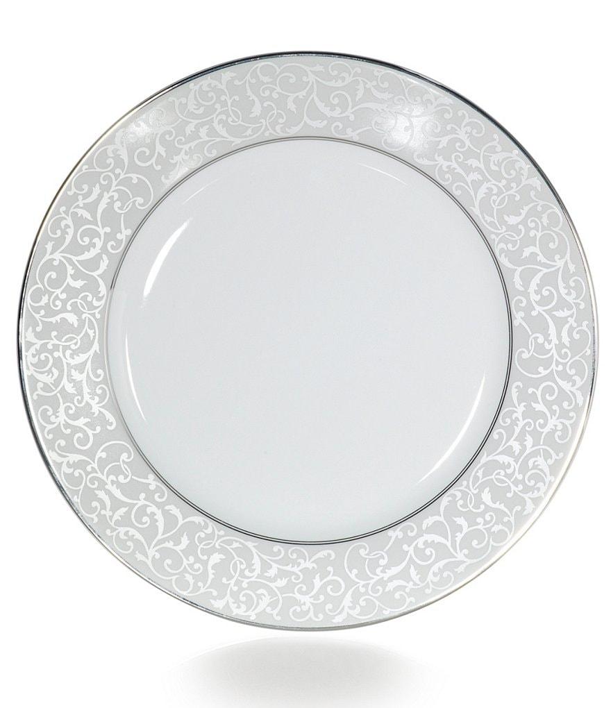 Mikasa Parchment Ivy Scroll Platinum Porcelain Dinner Plate  sc 1 st  Dillard\u0027s & Mikasa Parchment Ivy Scroll Platinum Porcelain Dinner Plate | Dillards
