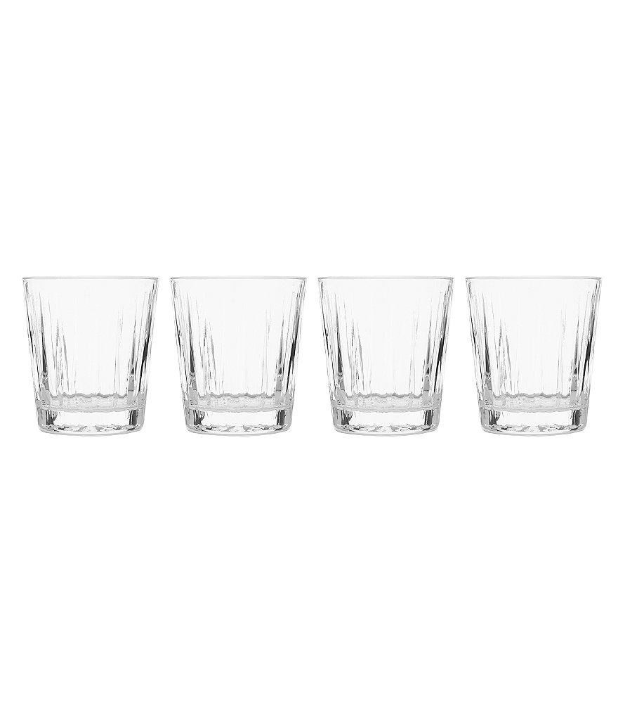 Mikasa Revel Double Old Fashioned Glasses, Set of 4