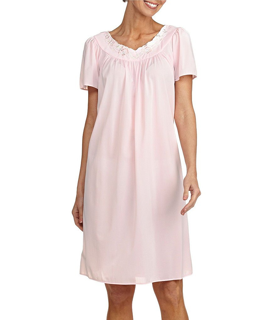 Miss Elaine Tricot Nightgown  3e115de33