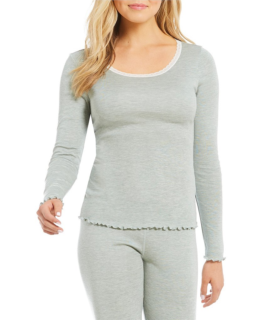 Modern Movement Silky-Knit Layering Top