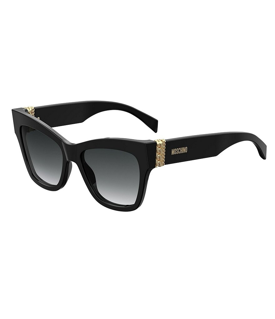 Moschino Chain Detail Cat Eye Sunglasses
