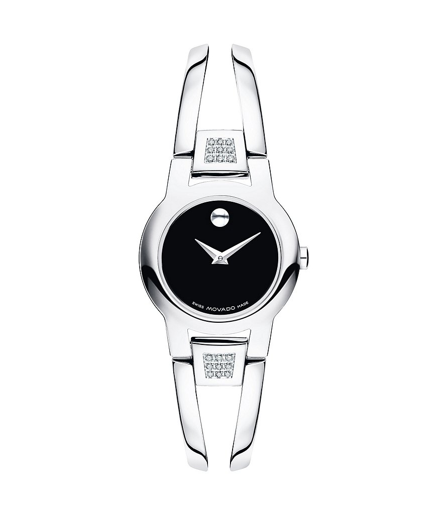 Movado Amorosa Diamond Bangle Watch