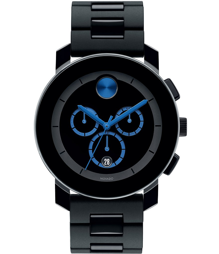 Movado Bold Chronograph Bracelet Watch