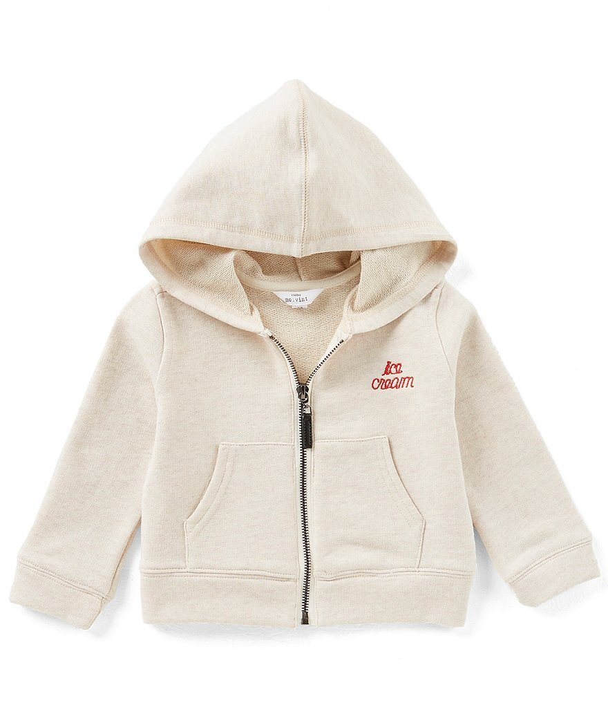 Mo:Vint Little Girls 2-6X Embroidered Ice Cream Hoodie Top