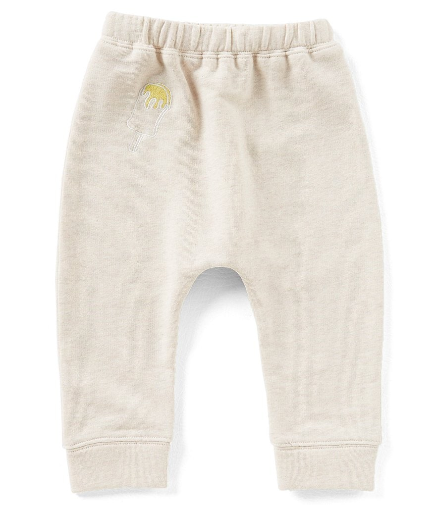 Mo:Vint Little Girls 2-6X Embroidered Ice Cream Jogger Pants