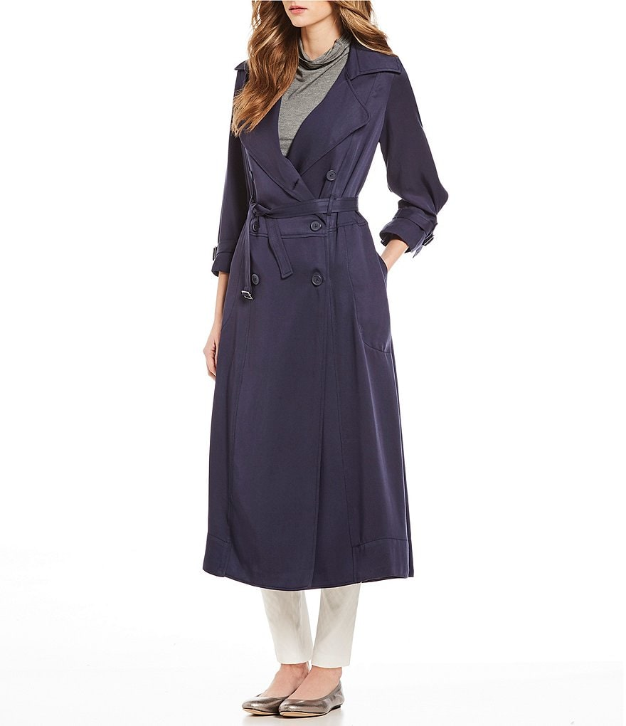 M.S.S.P. Tencel Trench Coat