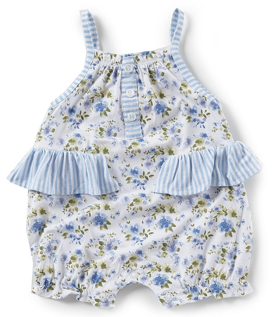 Mud Pie Baby Girls 3-9 Months Sleeveless Bubble Romper
