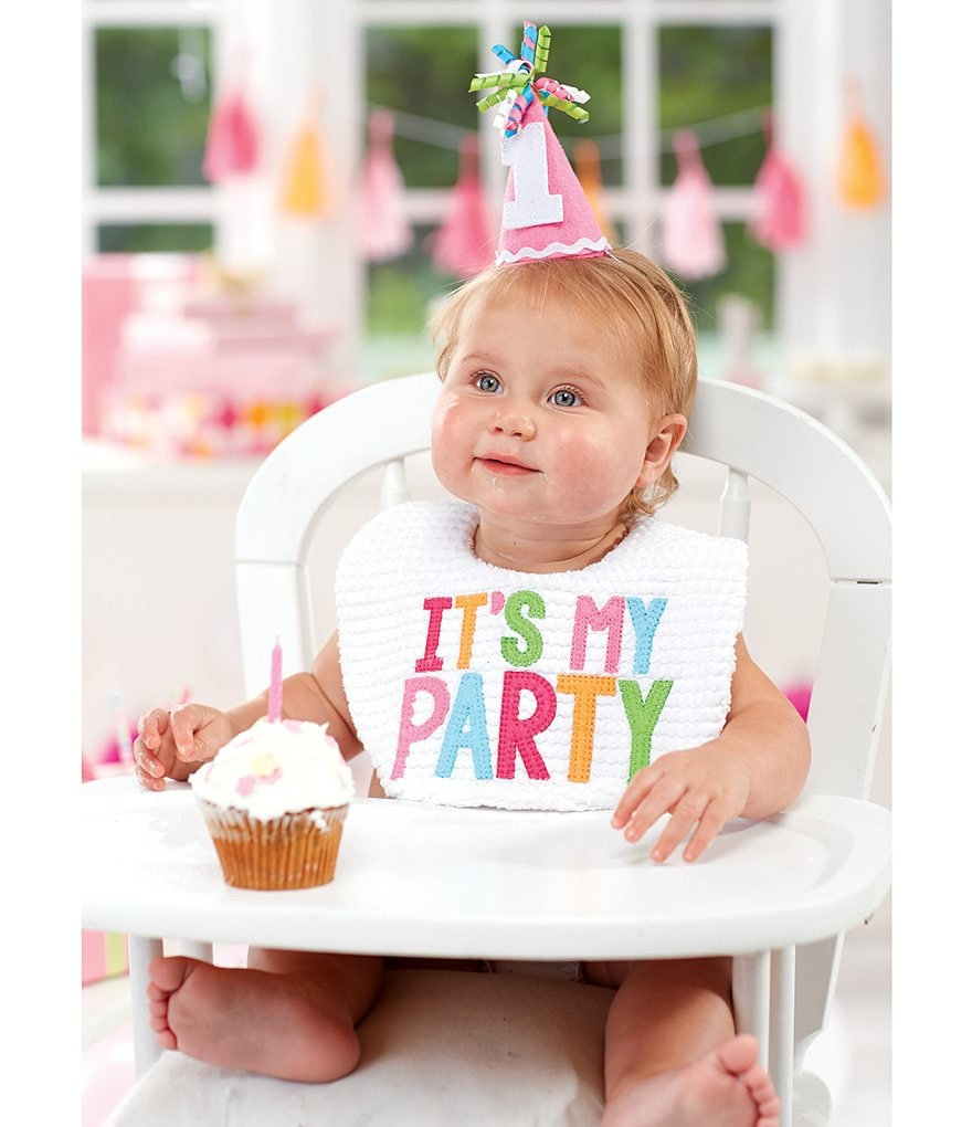 Mud Pie Baby Girls It´s My Party Cake Smashing Two-Piece Set