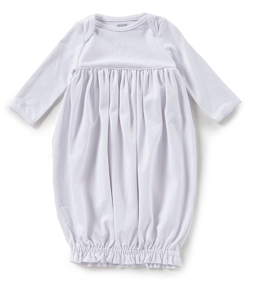 Mud Pie Baby Newborn-3 Months Christening Long-Sleeve Gown | Dillards