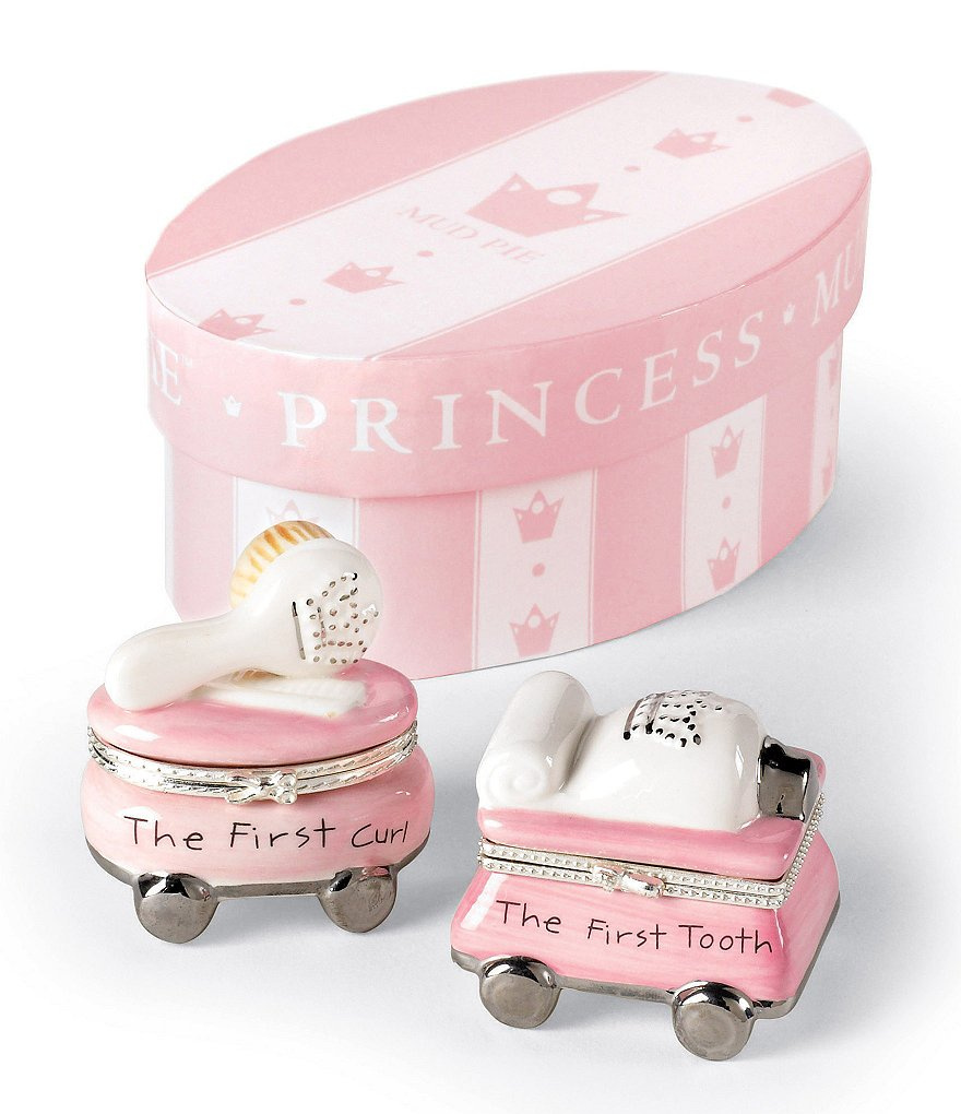 Mud Pie Princess Tooth & Curl Treasure Box Set