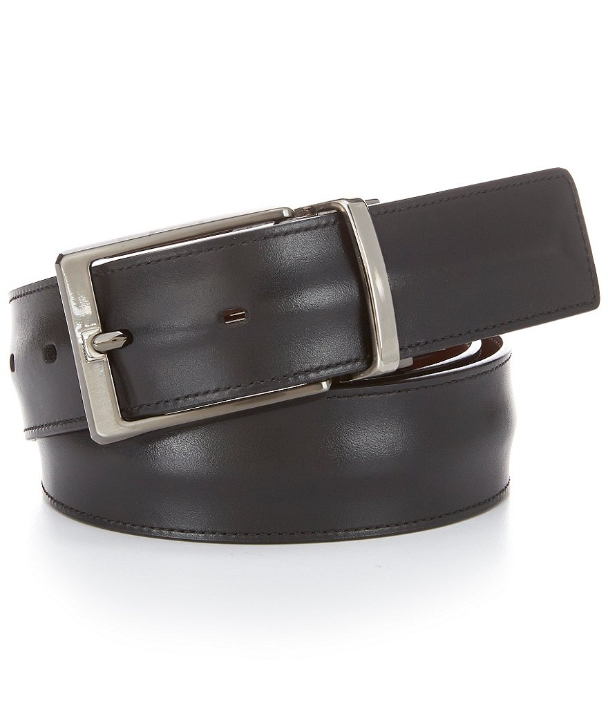 Murano Beauty Mark Reversible Leather Belt