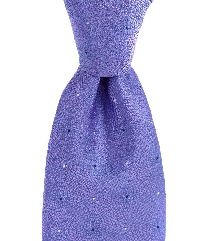 Murano Big & Tall Cosmic Solid Traditional Silk Tie